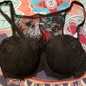 Victoria Secret  Dream Angels Demi Lace Bra 38B